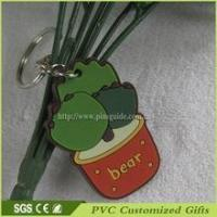 China 3d soft pvc custom rubber keychain for promotional gifts on sale