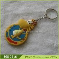 Buy cheap Factory Direct Sale Mini Promotional Plastic Keychain With Injection Logo from wholesalers