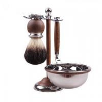 Buy cheap Wood Shaving Brush High-end Gift Set from wholesalers