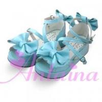 Buy cheap Lolita Long Coats Antaina Sweet Platform Shoes Sandals With Bows product