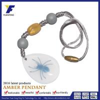 Buy cheap 2016 New Fashion Amber Pendant Necklace Amber Pendant Lighting For Sale from wholesalers