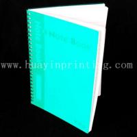 Buy cheap Plastic cover students note book from wholesalers