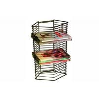 Buy cheap Wire shelf series Product name:DVD/Games Tower - Matte Black Steel from wholesalers