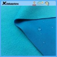 Buy cheap waterproof intetlock bonded with fleece for ourdoor sportswear product