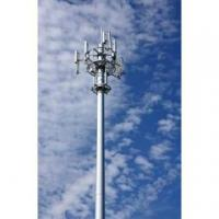 Buy cheap 30M Cell Tower and Antenna Slip joint with foundation from wholesalers