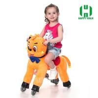 Buy cheap Teddy Bear Mechanical Walking Animal plush ride on from wholesalers