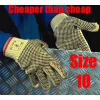 Buy cheap PVC Dots coated Kevlar Gloves from wholesalers