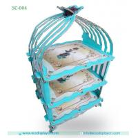 Buy cheap Customized Pop Paper Cake Stand,Cardboard 3 Tier Cake Stand from wholesalers