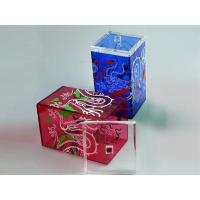 Buy cheap Color Acrylic Tea Box product