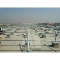 Buy cheap Flat Roof Solar Mounting Contact Now Galvanized Steel Mounting from wholesalers