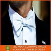 China Manufacturer Wholesale Fashion White Bow Tie