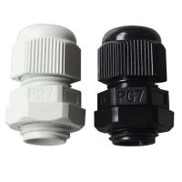 Buy cheap waterproof IP68 cable gland PG7 nylon cable glands from wholesalers