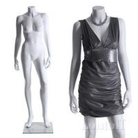 Buy cheap fashion fiberglass glossy white female mannequin from wholesalers
