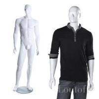 Buy cheap white glossy new design full body abstract head female mannequins from wholesalers