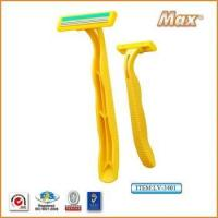 Buy cheap Triple Blade Disposable Razor For Lady from wholesalers