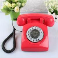 China Vintage Table Phone Old Style Home Sim Telephone Set on sale