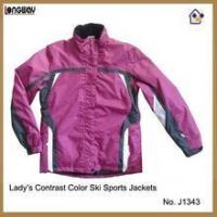 Buy cheap Winter Jackets for Womens Womens Purple and White Winter Jackets from wholesalers