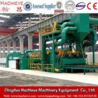 Buy cheap steel plate cleaning equipment, roller conveyor shot blasting machine from wholesalers