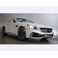 Buy cheap A3 R172 SLK-CLASS WALD BLACK BISON STYLE FRONT BUMPER WITH DRL & LICENSE HOLDER from wholesalers
