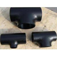 Buy cheap A234 wpb Seamless Butt Welded Steel Pipe Tee from wholesalers
