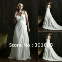 Buy cheap Wedding Dress 88012506plus size beach wedding dress from wholesalers