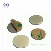 Buy cheap Neodymium disc magnets with self-adhesive Admin Edit from wholesalers