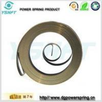 Buy cheap electrical equipment flat wire spiral torsion springs for rewinder from wholesalers