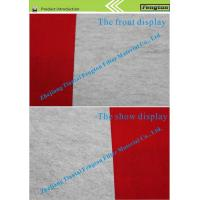 Buy cheap Polyester anti-static needle punched felt from wholesalers