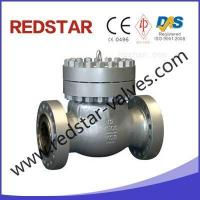 Buy cheap swing check valve catalogue Cast Steel Flanged Ends Swing... from wholesalers