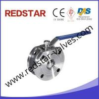 Buy cheap wafer ball valve stainless steel Italy Type Wafer Ball Valve from wholesalers