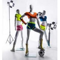 Buy cheap FIBERGLASS MANNEQUINS female sports mannequins from wholesalers