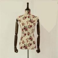 Buy cheap VINTAGE FABRIC COVERED MANNEQUINS female vintage fabric covered mannequin from wholesalers