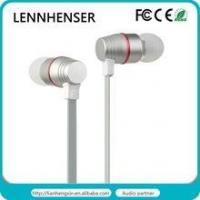 Buy cheap 2015 Private Double drivers metal In-earphone 3.5MM wire hands free with mic for smart phone from wholesalers