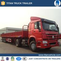 Buy cheap Flatbed trailer Product Name18 wheeler semi-trailer truck from wholesalers