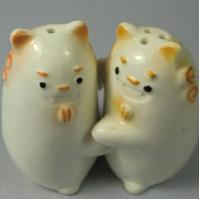 Buy cheap Ceramic Salt & Pepper Shakers Ceramic Animal Salt & Pepper Shakers product