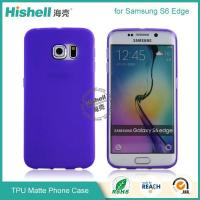 Buy cheap TPU Matte Finish Mobile Phone Case for Samsung S6 Edge from wholesalers