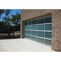 Buy cheap Unique Windload Aluminum Frame Automatic Sectional Glass Garage Door Price product