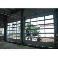 Buy cheap Newest Modern Motorized transparent Glass Commercial Garage Door from wholesalers