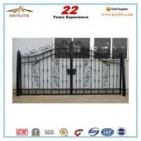 Buy cheap Sliding driveway decorative ornamental Wrought Iron Gate from wholesalers