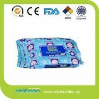Buy cheap Alll natural disposable baby wet tissue with GMPC from wholesalers