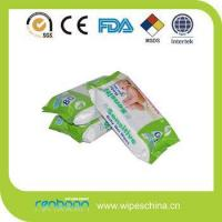 Buy cheap Private label alcohol free vitamin aloe all natural baby wipes without aloe from wholesalers
