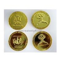 Badge Plastic Coins with Customized Designs