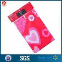 Buy cheap Wholesale custom cheap Valentines LDPE table cloth from wholesalers