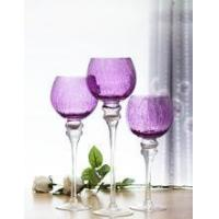 Buy cheap Unique design glass candle holder from wholesalers