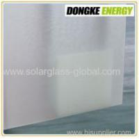 Buy cheap 4.0mm window wall tempered solar panel coating glass from wholesalers