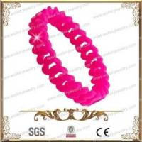 Buy cheap Pink silicone steel jewelry from wholesalers