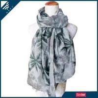 Tropical Foliage Scarf