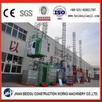 Buy cheap CE approved external lift building construction hoist product