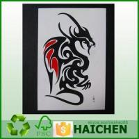 Buy cheap Tattoo Sticker For Kids,Self Adhesive Gold Foil Temporary Sticker,3D Color Temporary Tatoo Sticker product