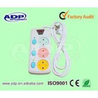 Buy cheap 3way electric extension Swith power sockets with cable & plug from wholesalers